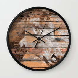 Horse Face Wall Clock