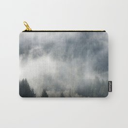 Limitless - Foggy Forest Nature Photography Carry-All Pouch