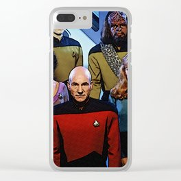 Enterprise Crew Clear iPhone Case