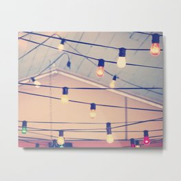 String up the Lights Metal Print