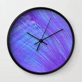 Opalescence Wall Clock