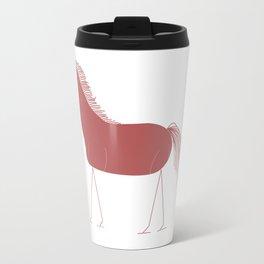 Horse 2 Travel Mug