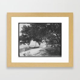 Biloxi Ms 1901 Framed Art Print