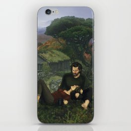 """""""The Ghosts That We Knew Will Flicker From View; and We'll Live a Long Life."""" iPhone Skin"""