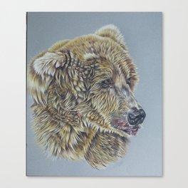 Otis, Golden Bear Canvas Print