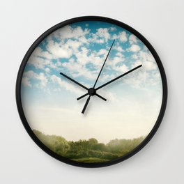 Over the Hill and Far Away Wall Clock