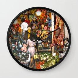Renato Guttuso La Vucciria Poster Wall Decor Art Print Photo Paper Material Wall Clock
