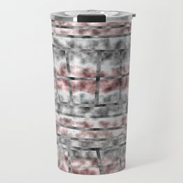 Gray and Pink Haze Travel Mug