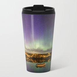 Aurora and the ISS Travel Mug