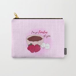 I'm so fondue of you Carry-All Pouch