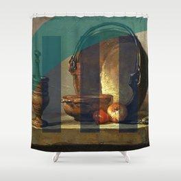 Supherage Shower Curtain