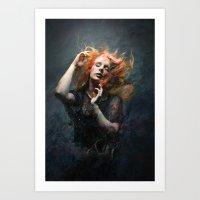 Gerascophobia  Art Print