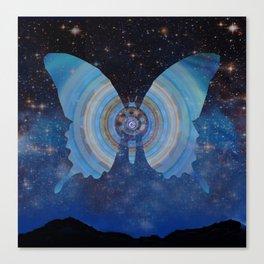 Stellar Butterfly Canvas Print