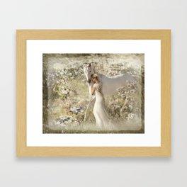 A Gentle Touch Framed Art Print
