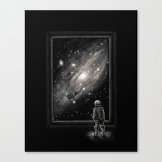 Looking Through a Masterpiece Canvas Print