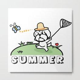 It is summer Metal Print