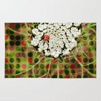 ladybug Area & Throw Rugs featuring Ladybug by Artistic Home Decor