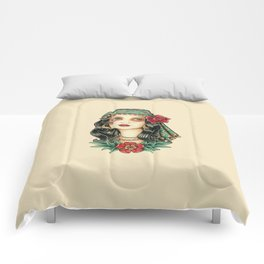 Gipsy tattoo Comforters