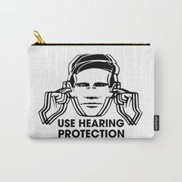 FAC 1 tribute - Factory Records - Use Hearing Protection Carry-All Pouch