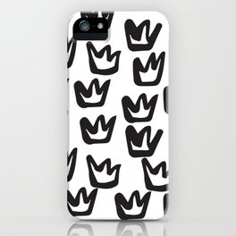 Crown iPhone Case