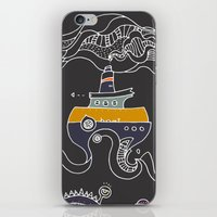 boat iPhone & iPod Skins featuring Boat by inktheboot