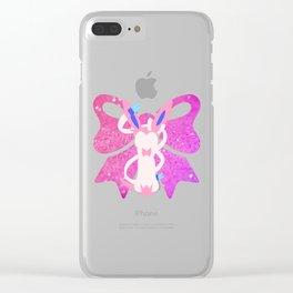 Minimal Sylveon Clear iPhone Case