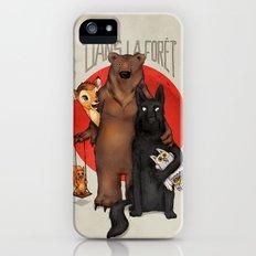 Dans la Forêt iPhone (5, 5s) Slim Case