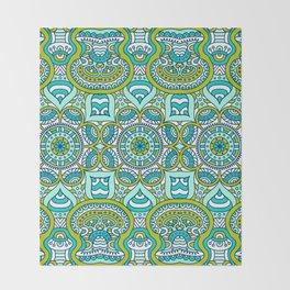 Gren Boho Pattern Throw Blanket