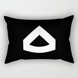 Private First Class Rectangular Pillow