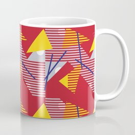 Postmodern Primary Sunstorm Coffee Mug