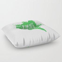 Sleep in Peace Floor Pillow