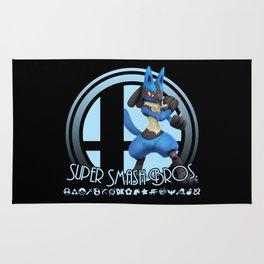 Lucario - Super Smash Bros. Rug