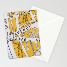 Paris Streets 3 Stationery Cards