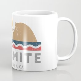 Yosemite National Park, California Graphic Coffee Mug