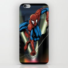 Sharp Spidey Swing iPhone & iPod Skin
