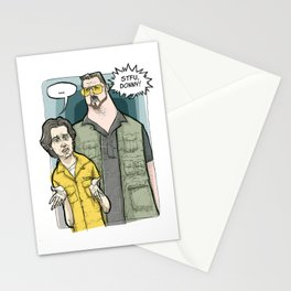 Walter and Donny STFU Stationery Cards