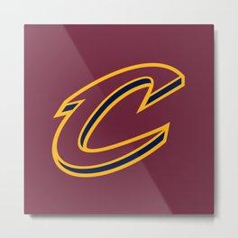 Cleveland Cavalier Logo Metal Print