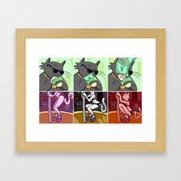 Make it Rain Framed Art Print