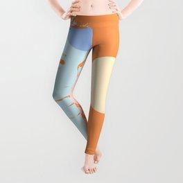 Blue girl Leggings