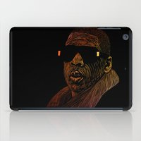 jay z iPad Cases featuring Jay-Z Color by William