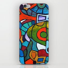 Flying Over Red River iPhone Skin