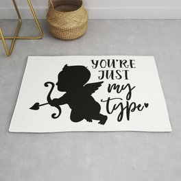 you're just my type Rug