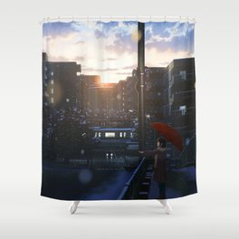 One Snowy Day Shower Curtain