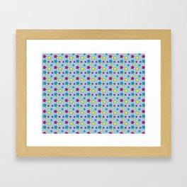 Vinnie Star 1 - Cornflower Framed Art Print