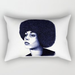 Angela Davis Rectangular Pillow