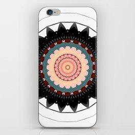 Mandala blossom / centro iPhone Skin