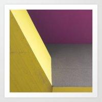 Geometrie_05 Art Print