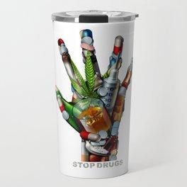 Stop Drugs Travel Mug