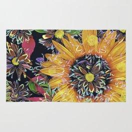 Flower Collage 2 Rug