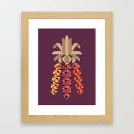 Indian Corn Framed Art Print